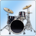 Easy Real Drums-Real Rock and jazz Drum music game v APK Download For Android