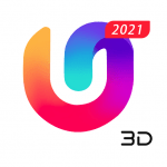 U Launcher 3D: New Launcher 2020, 3d themes v APK For Android