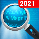 Download Magnifying Glass + Flashlight v APK For Android