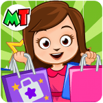 Free Download My Town: Shopping Mall –  Fun Shop Game for Girls v APK
