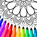 Mandala Coloring Pages v16.2.6 APK Download For Android
