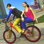 Download BMX Bicycle Taxi Driving City Passenger Simulator v1.2 APK For Android