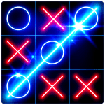 Tic Tac Toe Glow v8.6.0 APK For Android