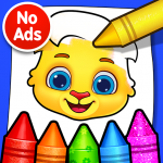 Coloring Games: Coloring Book, Painting, Glow Draw v1.1.6 APK Latest Version