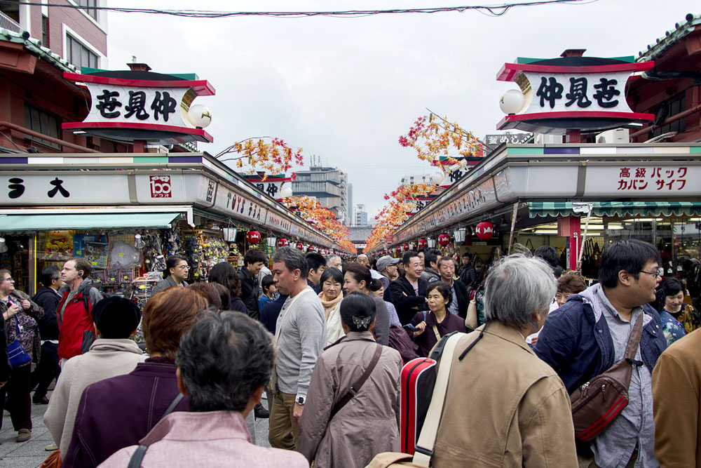 A Day of Eating in Asakusa