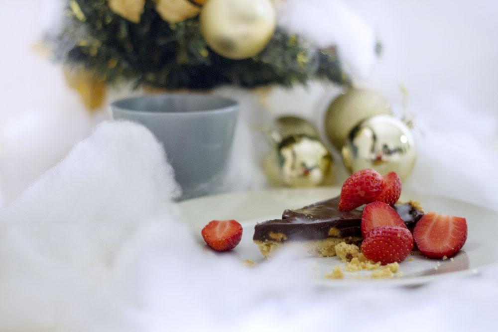 Christmas Chocolate Pie