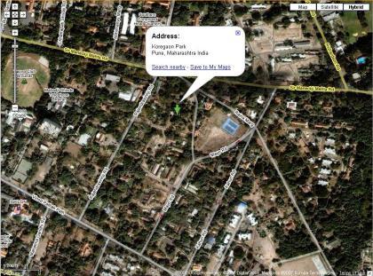 Google Map without Wikimapia Data