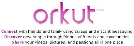 Orkut Homepage Logo