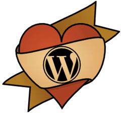 Wordpress Logo Love