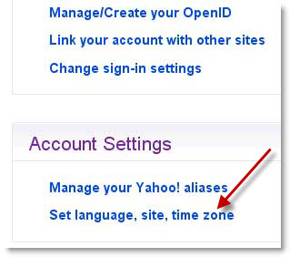 How To Change Time Zone Settings In Yahoo Mail
