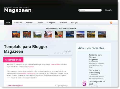 magazeen-2-blogger-template