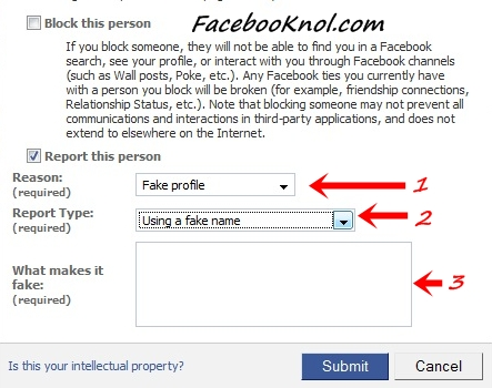 How to deal with your fake/impostor facebook profile