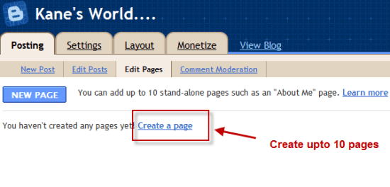 blogger_create_page