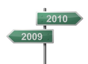 New Year 2010 Signpost