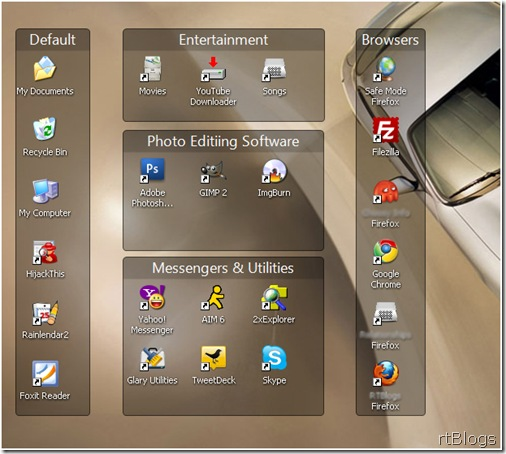 Organize your Desktop with the Help of Fences Software