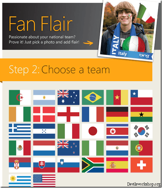 team fan flair