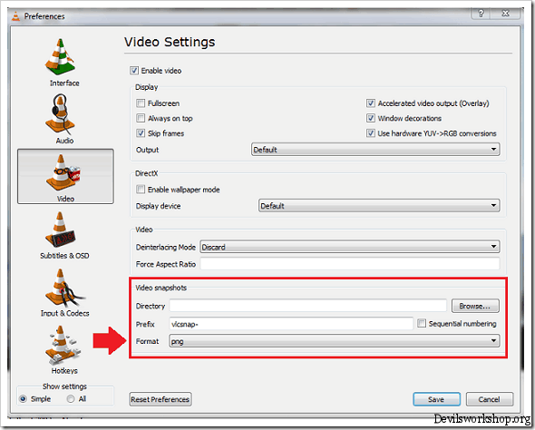 How to Take Snapshots of Videos in VLC Player