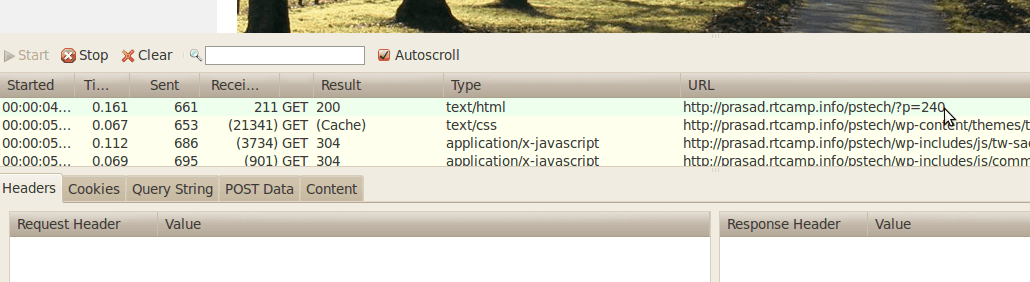 HttpFox - a helpful Firefox Add-on for Debugging