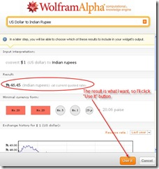 wolfram alpha result search query