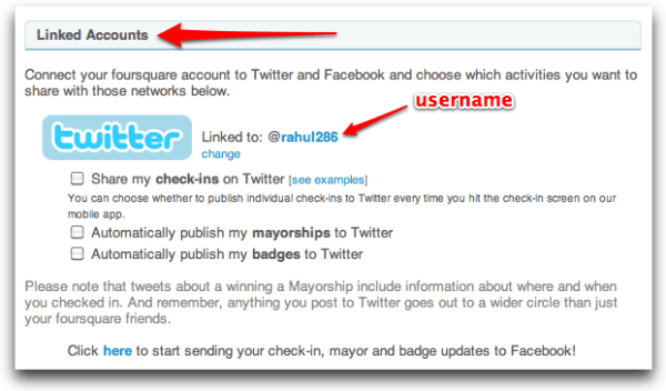 HowTo] Get Foursquare Username of Your Choice