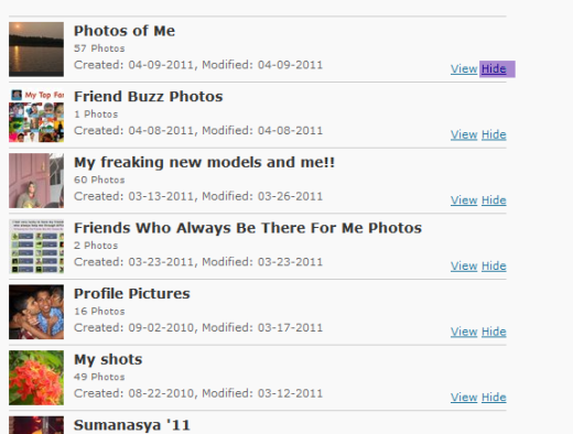 How-To] Show your Facebook Photos on WordPress Blog