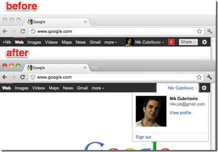 Remove Google+ notifications from Google sites