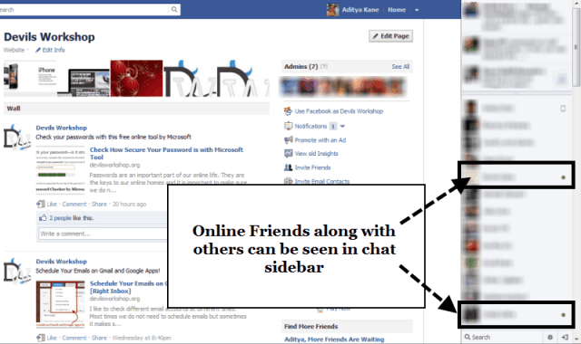 Fix Facebook Chat by Showing Only Online Friends [Chrome]