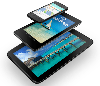 Nexus Phones and Tablets