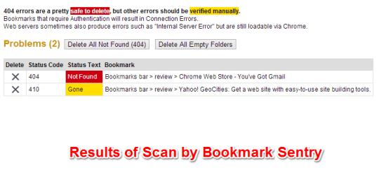 Bookmark Sentry Scans Bookmark Director