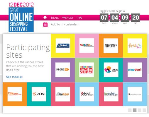 Google - Great Online Shopping Festival