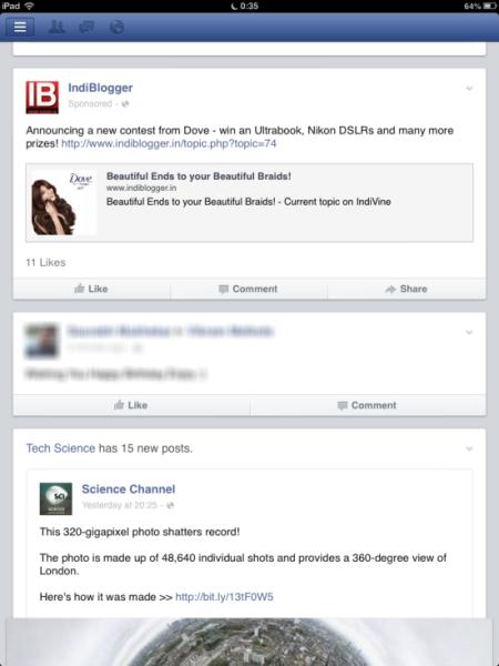 FB News Feeds