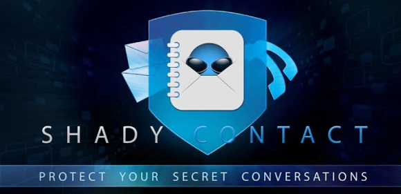 Shady Contact - app to hide SMS and call logs