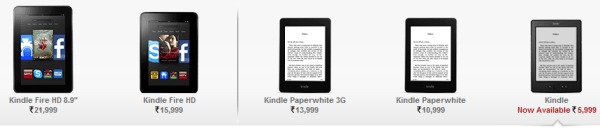 Kindle in India