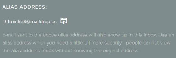 MailDrop-alias-address