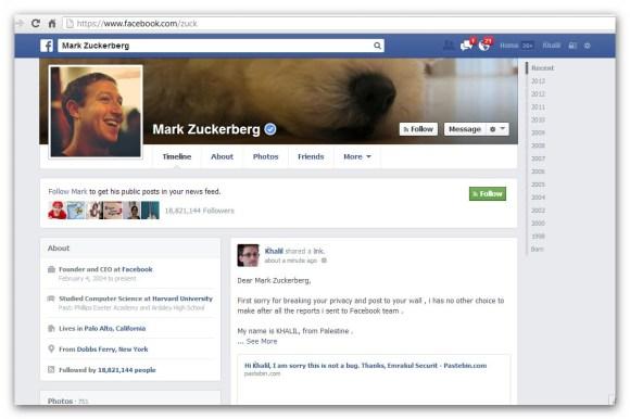 Zuckerberg Wall Bug Report - Copy