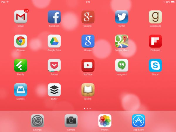 iOS 7 Wallpapers bad example