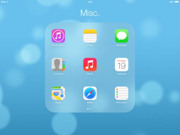 ios Apps - ios7