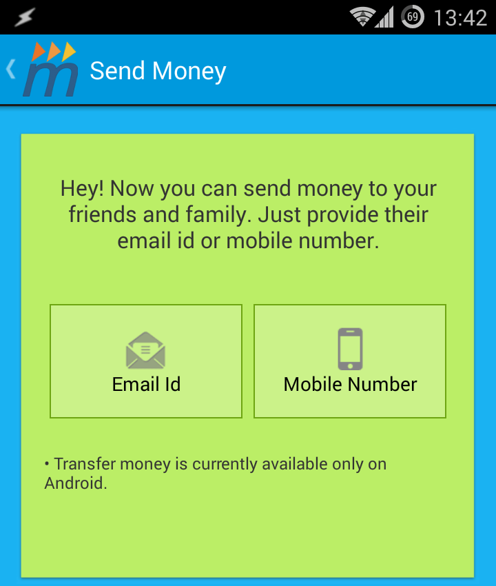 Transfer Cash to Friends from One MobiKwik Wallet to Another