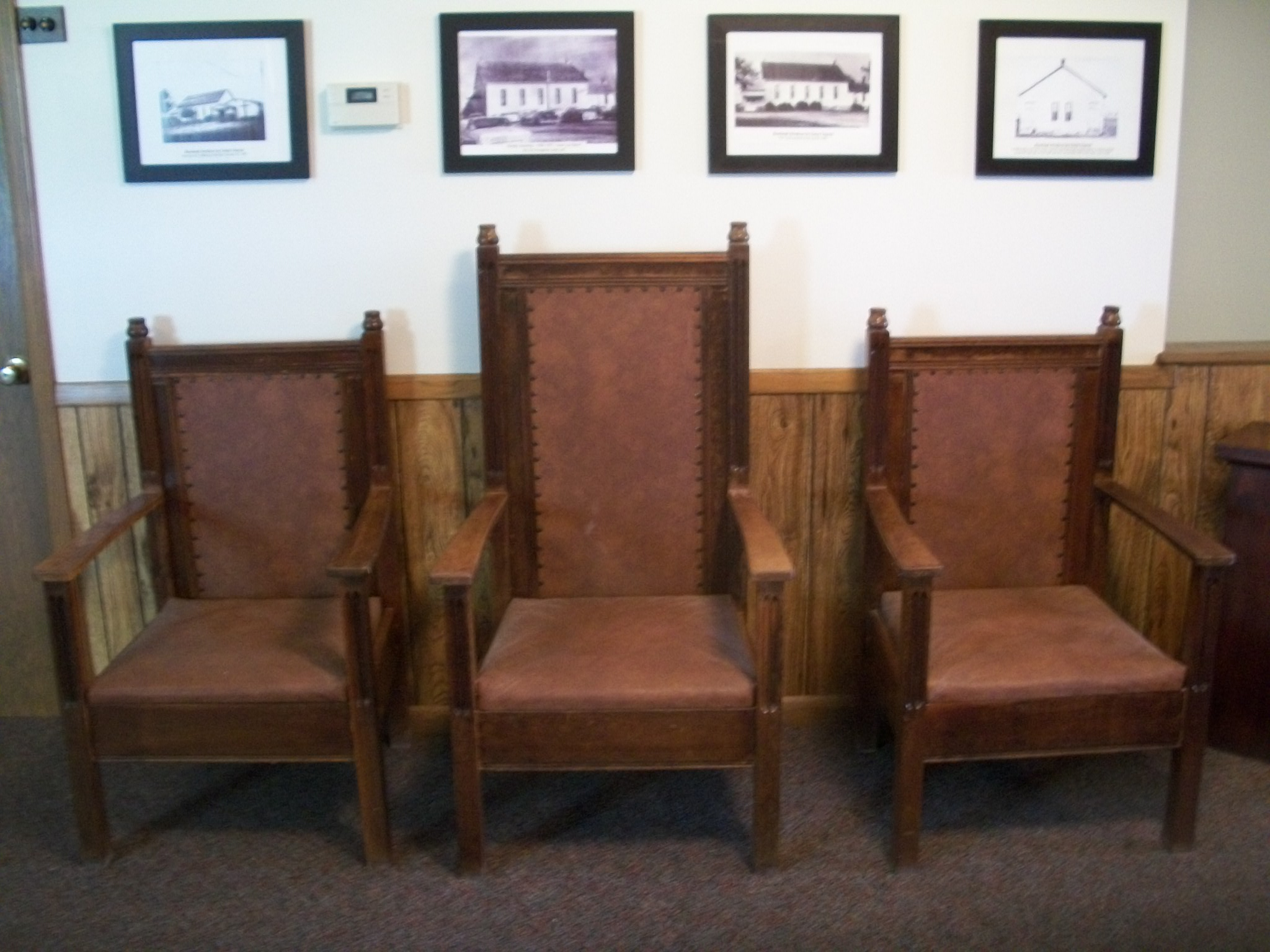 pastor pulpit chairs chair covers for leather recliners restoring the rosebank church an update search