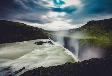 Gullfoss Water Walls