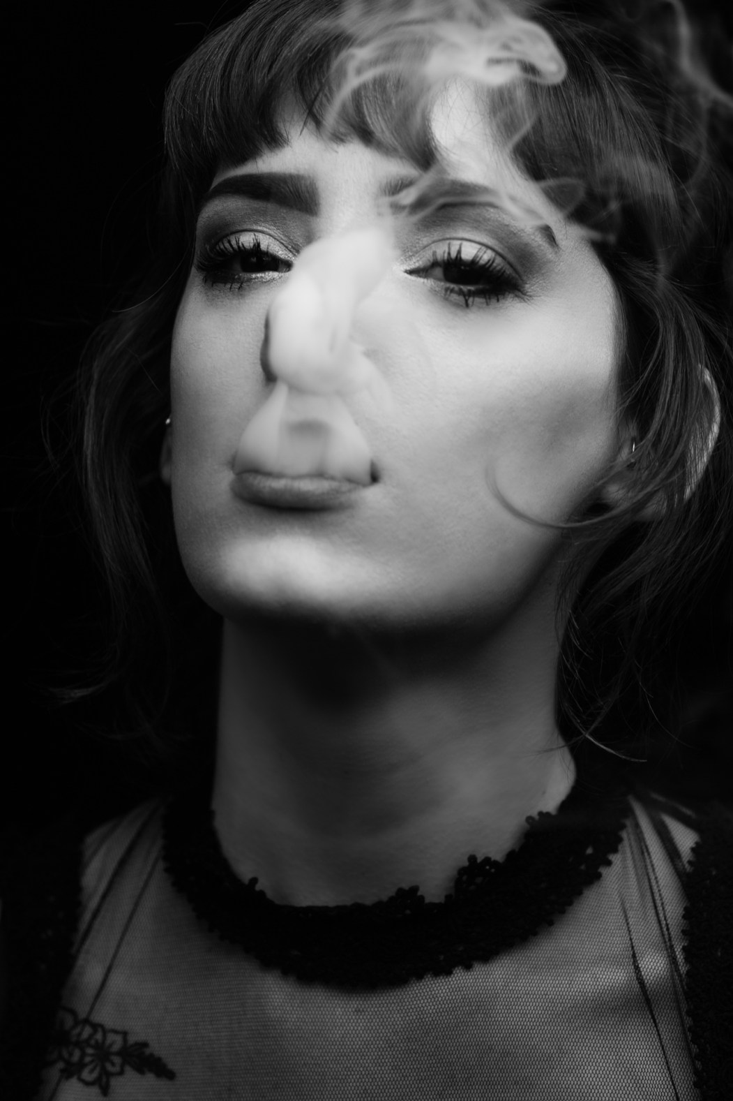 She Smokes