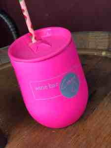 Wine Bar George Disney Springs Neon Pink Corkcicle