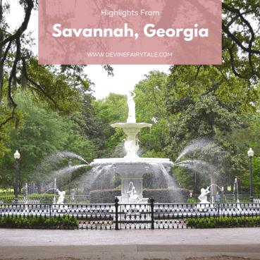 Copy of Savannah, Georgia Highlights
