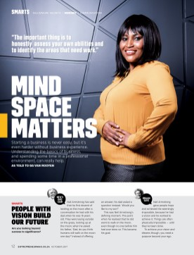 Entrepreneur October 2017-Thuli Magubane