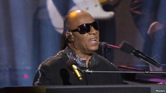 Stevie Wonder performing at Stevie Wonder: Songs In The Key of Life – An All-Star Grammy Salute event on Feb. 10, 2015.