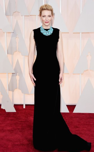 Cate Blanchett at the 87th annual Academy Awards