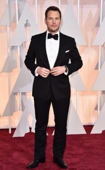 Chris Pratt at the 87th annual Academy Awards