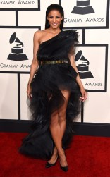 Ciara at the 57th annual Grammy Awards