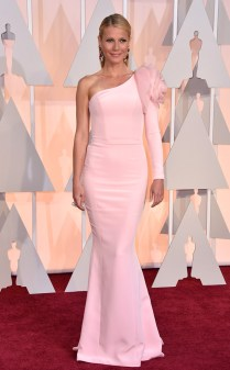 Gwyneth Paltro at the 87th annual Academy Awards