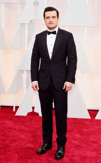 Josh Hutcherson at the 87th annual Academy Awards